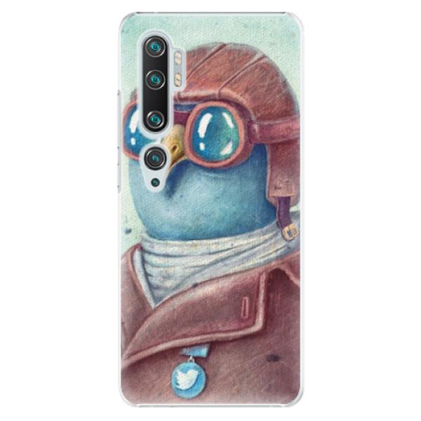 Plastové pouzdro iSaprio - Pilot twitter - Xiaomi Mi Note 10 / Note 10 Pro