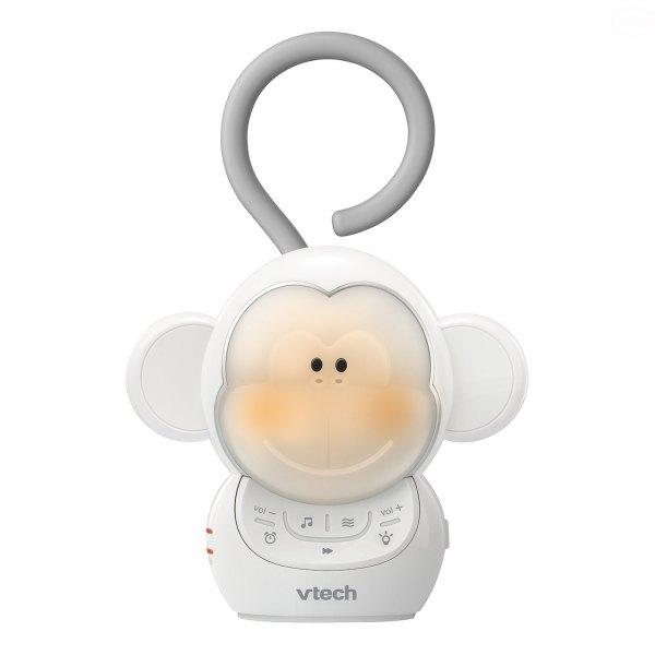 Uspávací opička Myla - bílá