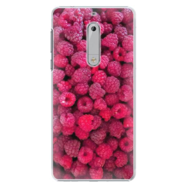 Plastové pouzdro iSaprio - Raspberry - Nokia 5