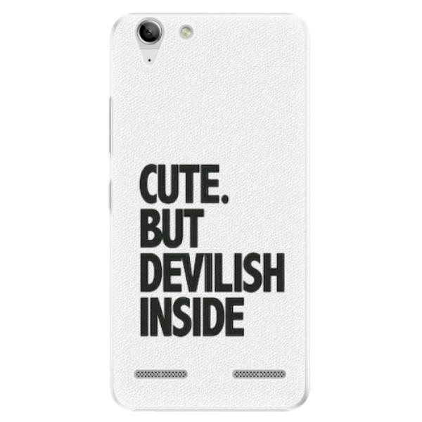Plastové pouzdro iSaprio - Devilish inside - Lenovo Vibe K5