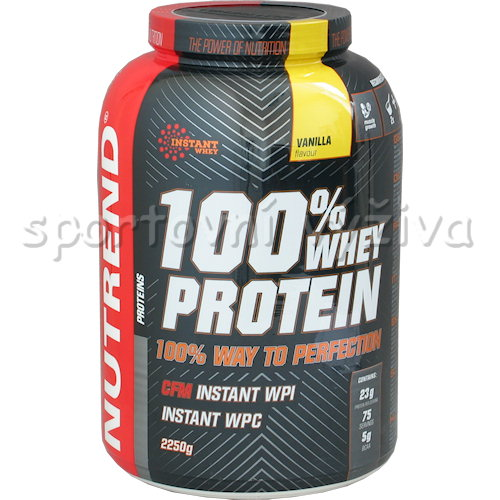 100% Whey Protein - 2250g-banan