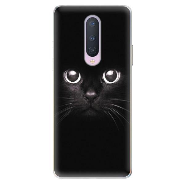 Odolné silikonové pouzdro iSaprio - Black Cat - OnePlus 8
