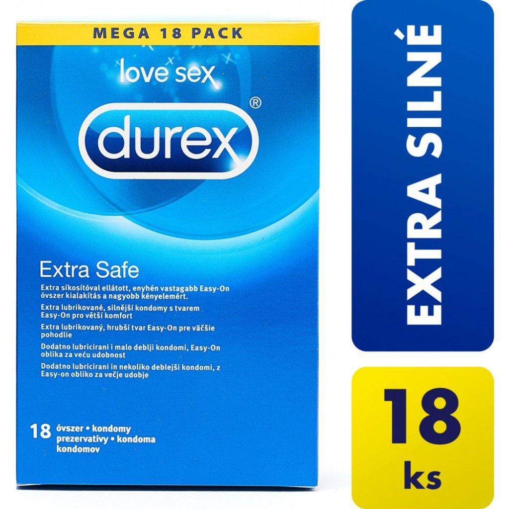 DUREX EXTRA SAFE 18ks