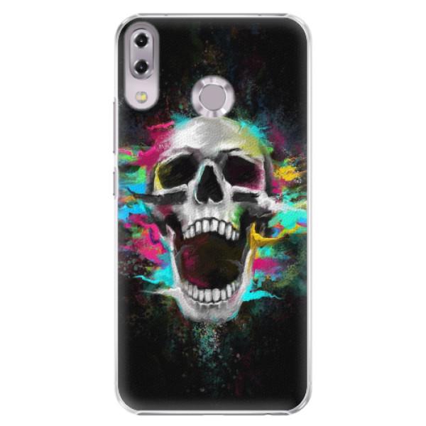 Plastové pouzdro iSaprio - Skull in Colors - Asus ZenFone 5 ZE620KL