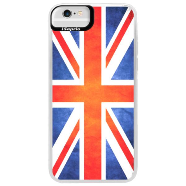 Neonové pouzdro Blue iSaprio - UK Flag - iPhone 6 Plus/6S Plus