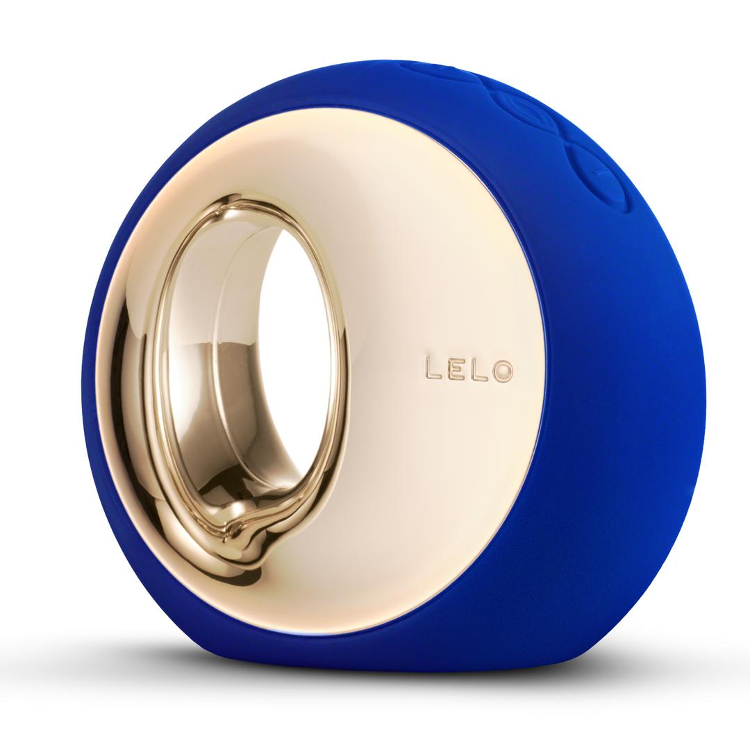 Luxusní vibrátor LELO ORA tmavě modrá