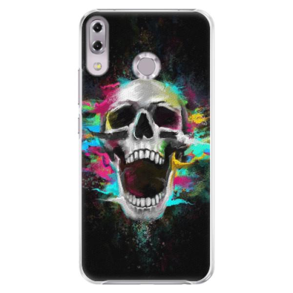 Plastové pouzdro iSaprio - Skull in Colors - Asus ZenFone 5Z ZS620KL