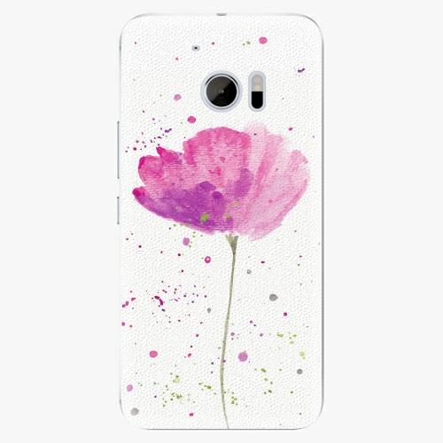 Plastový kryt iSaprio - Poppies - HTC 10
