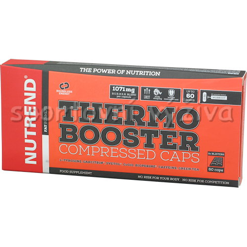 Thermobooster Compressed Caps 60 kapslí