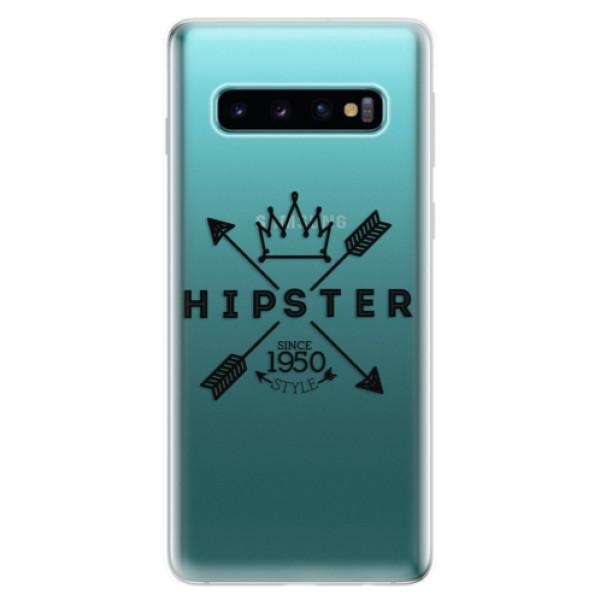 Odolné silikonové pouzdro iSaprio - Hipster Style 02 - Samsung Galaxy S10