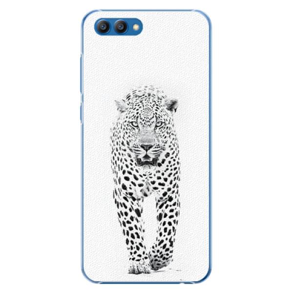 Plastové pouzdro iSaprio - White Jaguar - Huawei Honor View 10