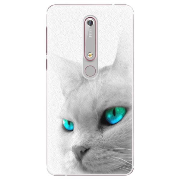 Plastové pouzdro iSaprio - Cats Eyes - Nokia 6.1
