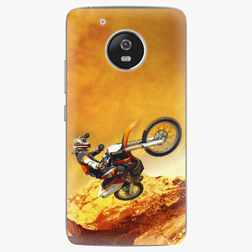 Plastový kryt iSaprio - Motocross - Lenovo Moto G5