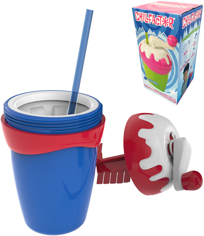 Milkshake Maker výroba ledového mléčného koktejlu dětský shaker 2 barvy plast