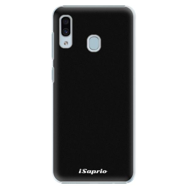 Plastové pouzdro iSaprio - 4Pure - černý - Samsung Galaxy A20