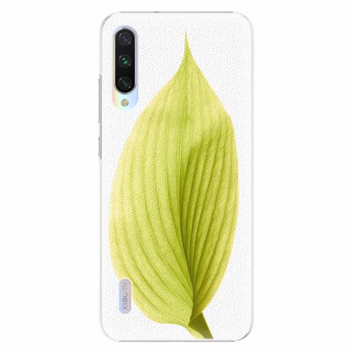 Plastový kryt iSaprio - Green Leaf - Xiaomi Mi A3