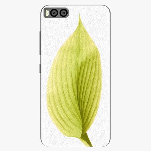 Plastový kryt iSaprio - Green Leaf - Xiaomi Mi6