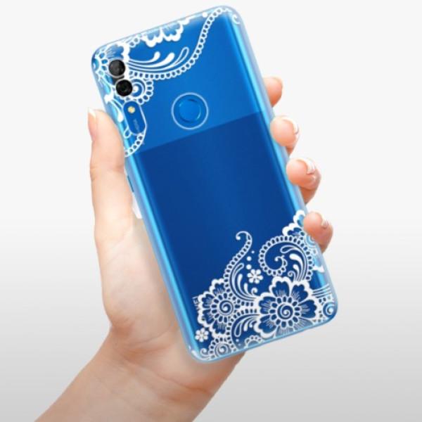 Odolné silikonové pouzdro iSaprio - White Lace 02 - Huawei P Smart Z