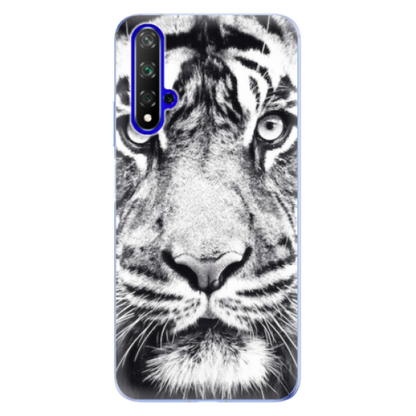 Odolné silikonové pouzdro iSaprio - Tiger Face - Huawei Honor 20