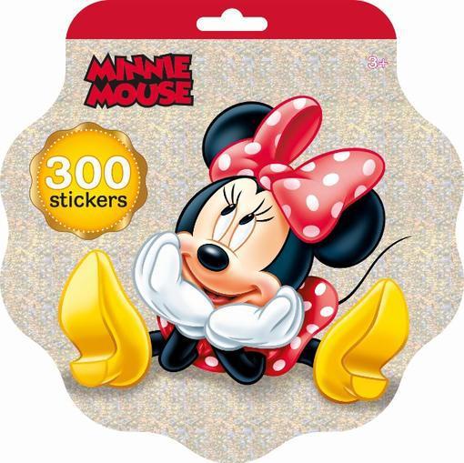 JIRI MODELS Holografický blok se samolepkami set 300ks Disney Minnie Mouse
