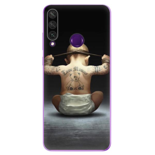 Odolné silikonové pouzdro iSaprio - Crazy Baby - Huawei Y6p