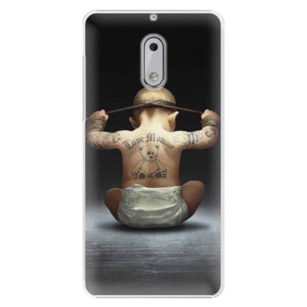 Plastové pouzdro iSaprio - Crazy Baby - Nokia 6