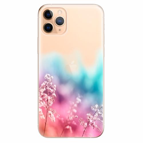 Silikonové pouzdro iSaprio - Rainbow Grass - iPhone 11 Pro Max