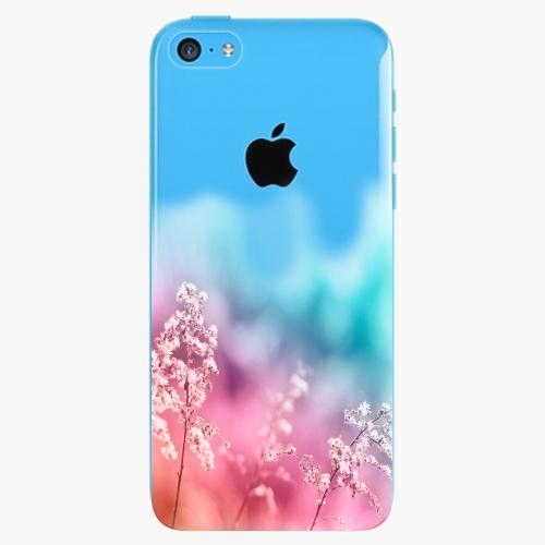 Plastový kryt iSaprio - Rainbow Grass - iPhone 5C
