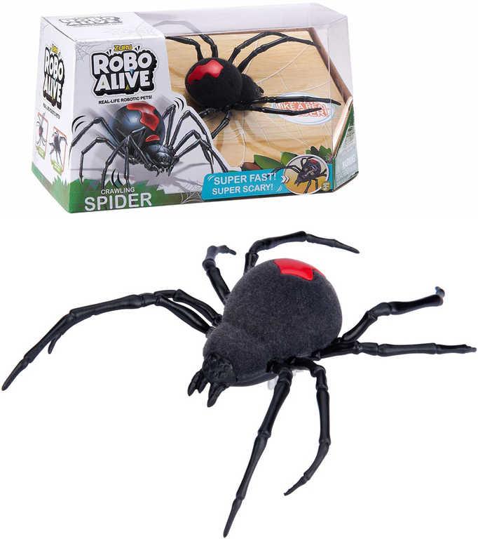 ZURU Robo Alive pavouk zvířátko na baterie reaguje na dotek realistický vzhled plast