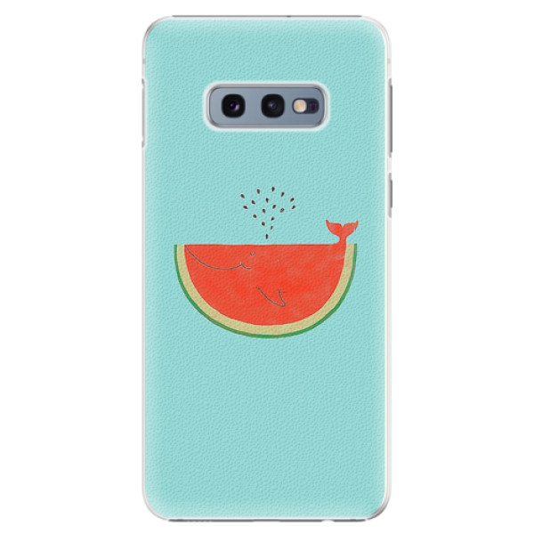 Plastové pouzdro iSaprio - Melon - Samsung Galaxy S10e