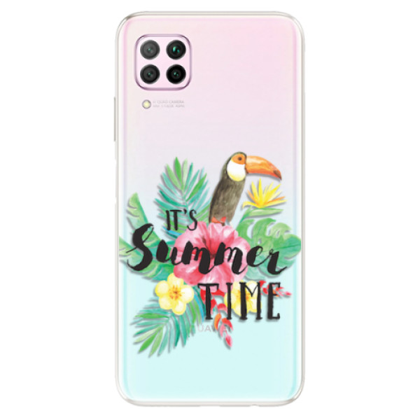 Odolné silikonové pouzdro iSaprio - Summer Time - Huawei P40 Lite
