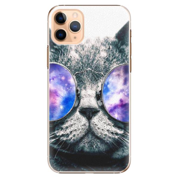 Plastové pouzdro iSaprio - Galaxy Cat - iPhone 11 Pro Max