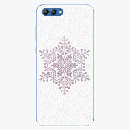 Plastový kryt iSaprio - Snow Flake - Huawei Honor View 10