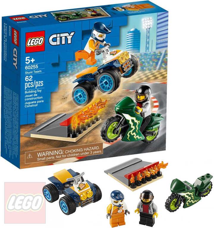 LEGO CITY Tým kaskadérů 60255 STAVEBNICE