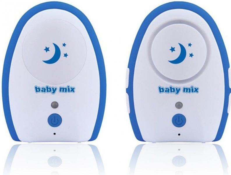 Baby Mix Obousměrná elektronická chůvička - modrá