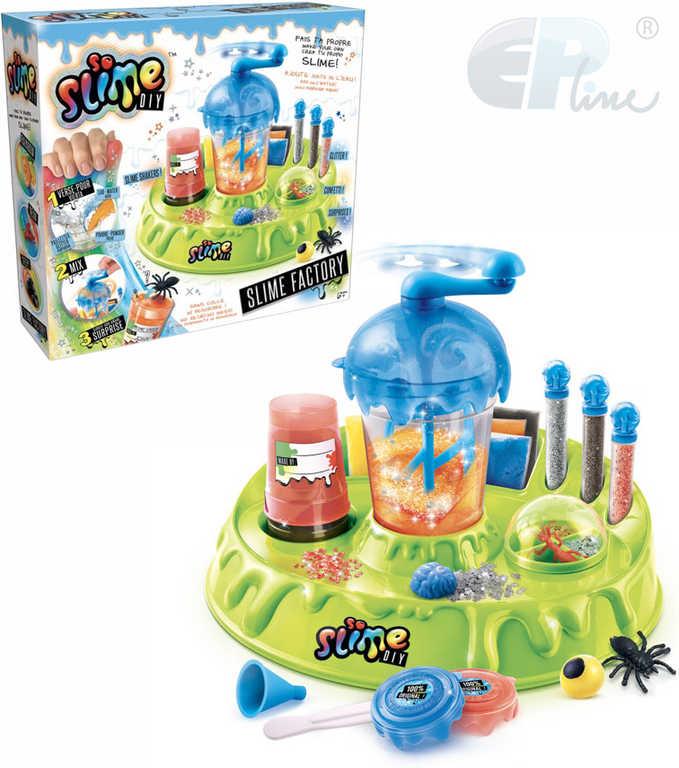 EP Line So Slime továrna na sliz kreativní set s shakerem a figurkami pro kluky