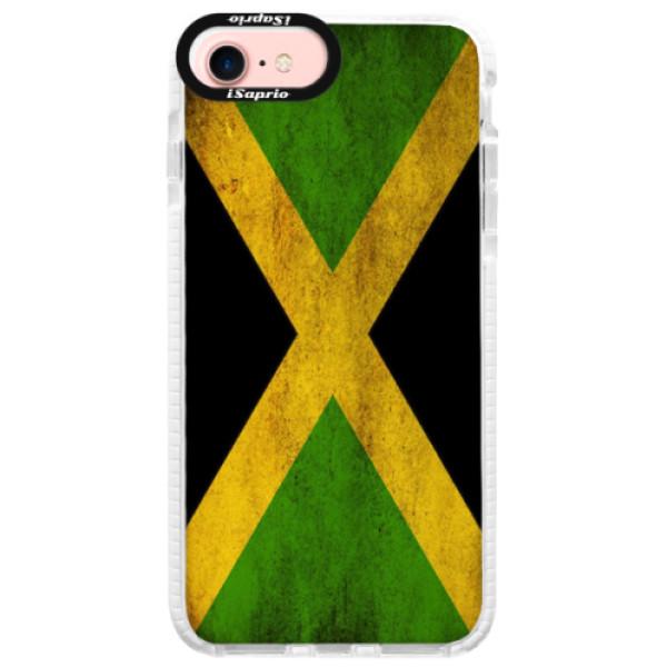 Silikonové pouzdro Bumper iSaprio - Flag of Jamaica - iPhone 7