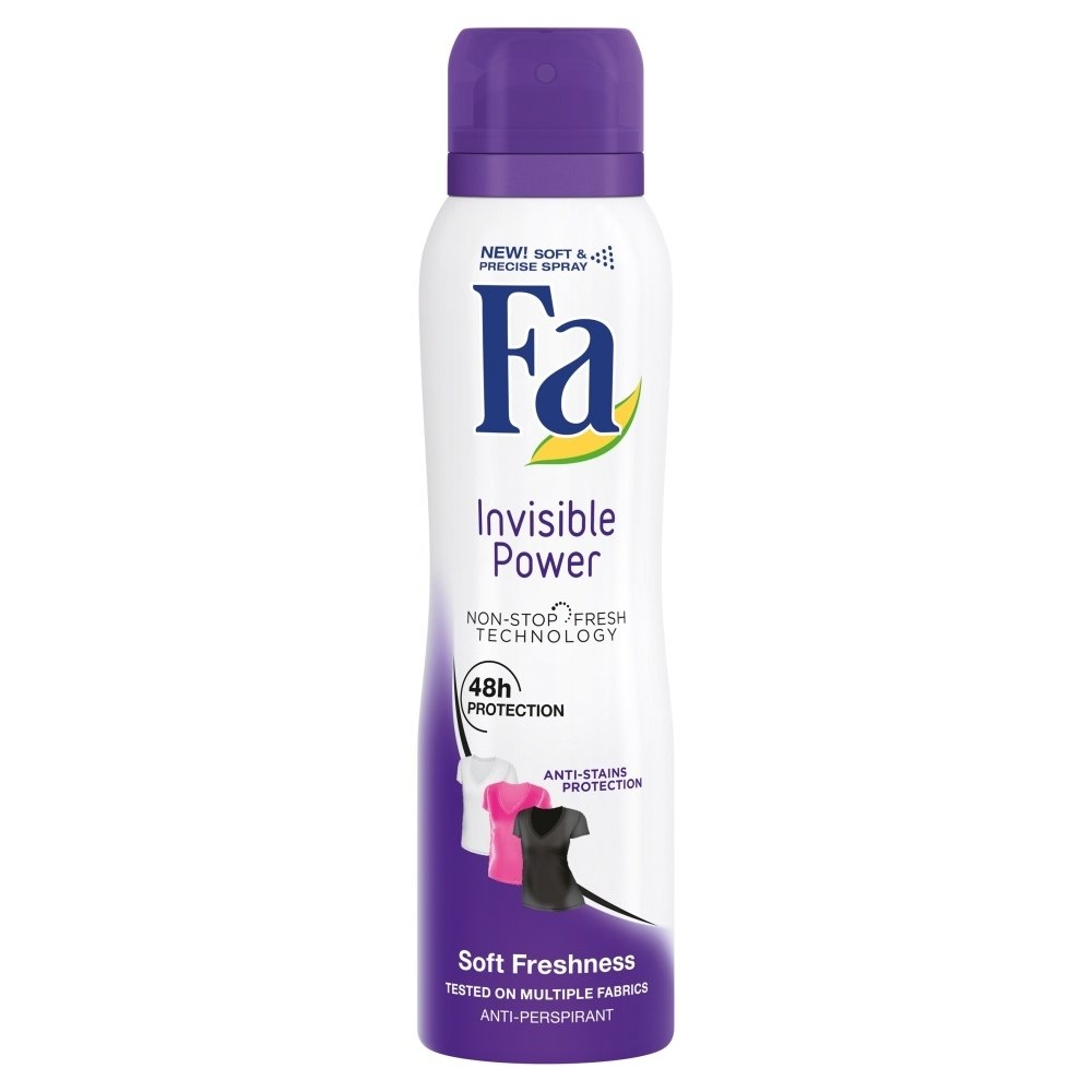 Antiperspirant Invisible Power 150ml
