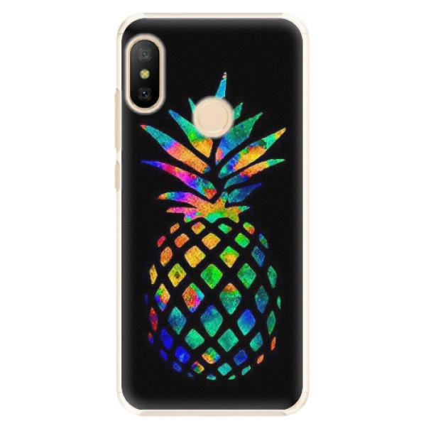 Plastové pouzdro iSaprio - Rainbow Pineapple - Xiaomi Mi A2 Lite