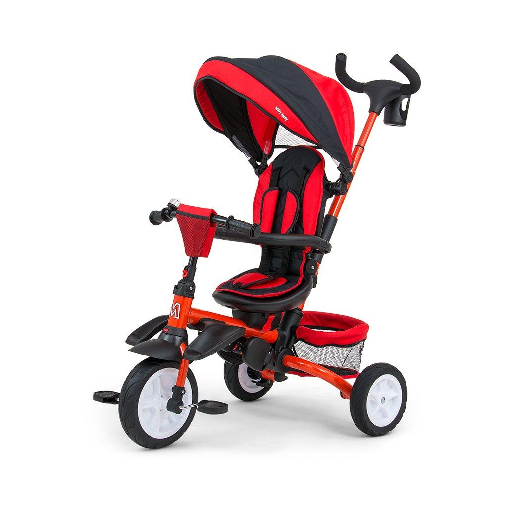Dětská tříkolka 6v1 Milly Mally Stanley - red - červená
