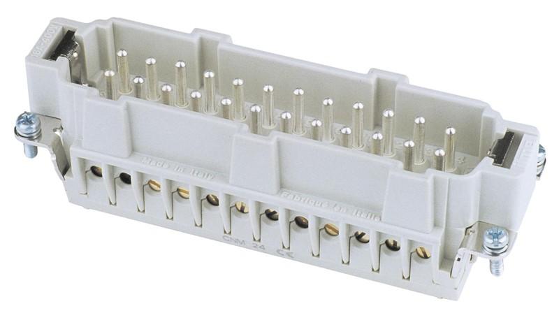 Zástrčkový konektor 24 pólový