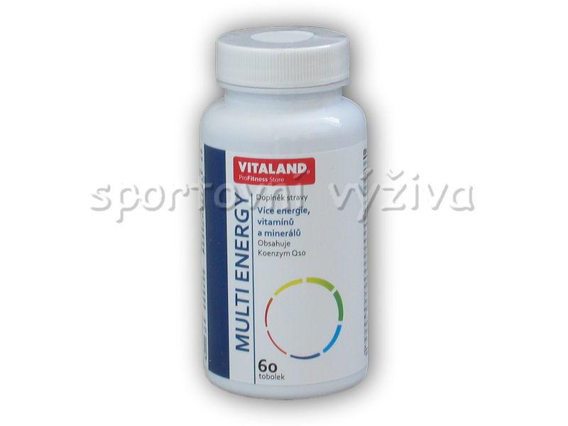 Vitaland Multi Energy 60 kapslí