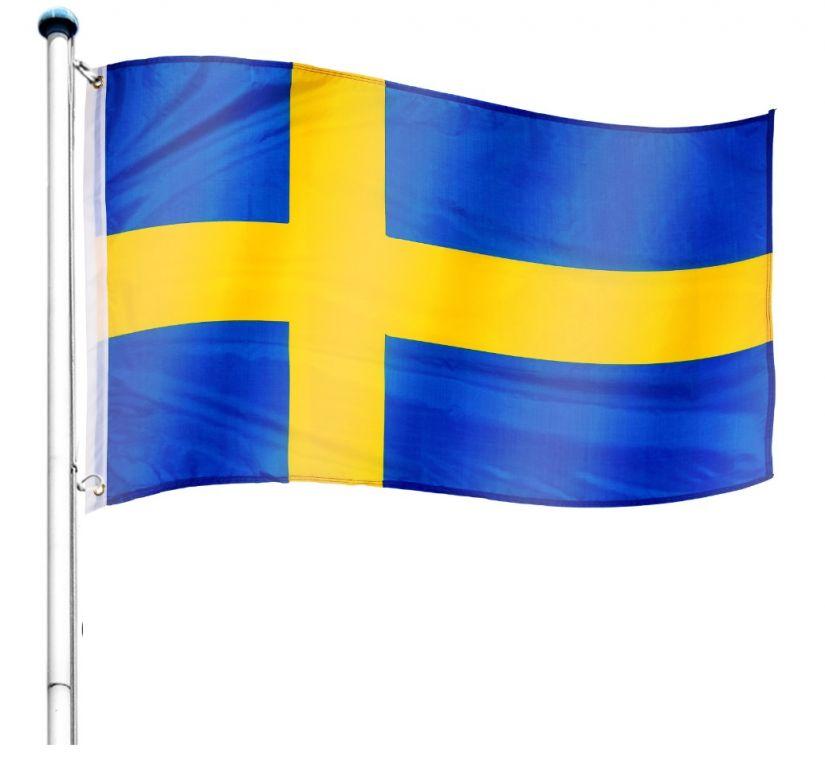 vlajkovy-stozar-vc-vlajky-svedsko-650-cm