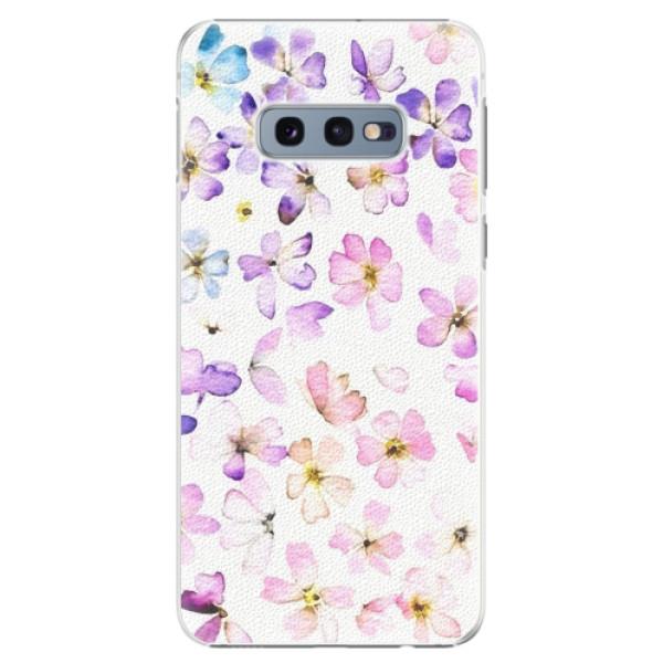 Plastové pouzdro iSaprio - Wildflowers - Samsung Galaxy S10e