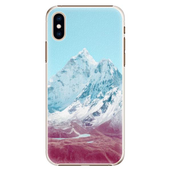 Plastové pouzdro iSaprio - Highest Mountains 01 - iPhone XS