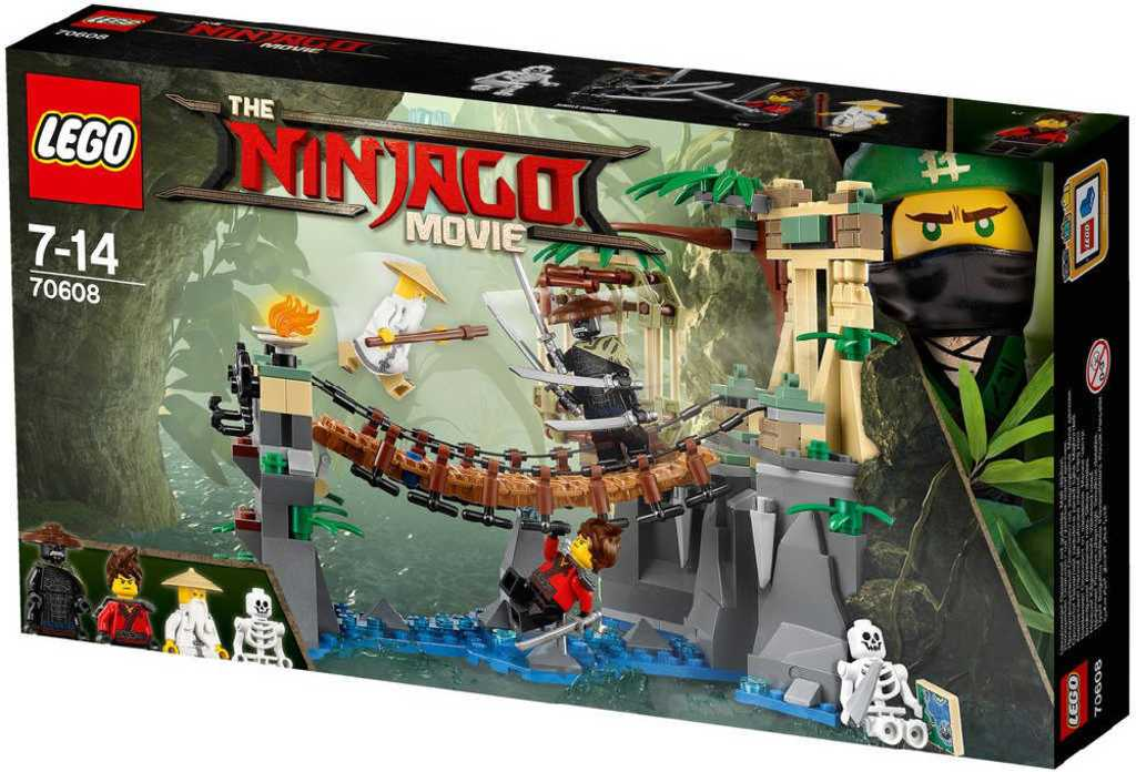 LEGO NINJAGO Vodopády Master Falls 70608 STAVEBNICE
