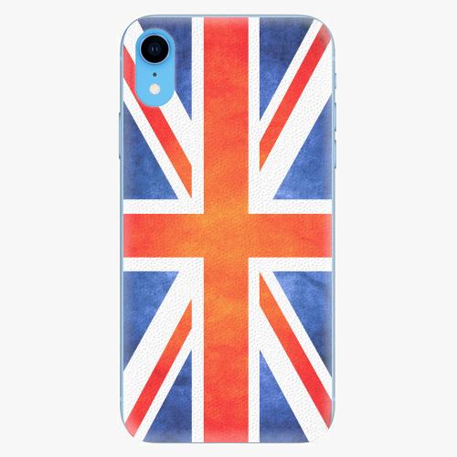 Silikonové pouzdro iSaprio - UK Flag - iPhone XR