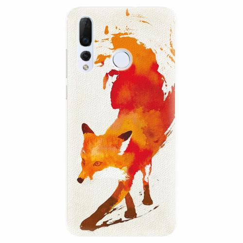 Silikonové pouzdro iSaprio - Fast Fox - Huawei Nova 4