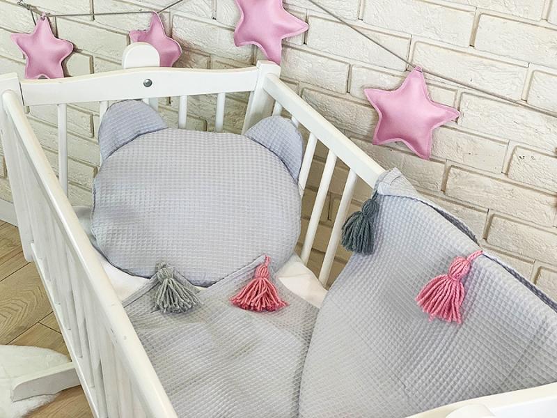 baby-nellys-detska-vaflova-2-dilna-sada-medvidek-svetle-seda