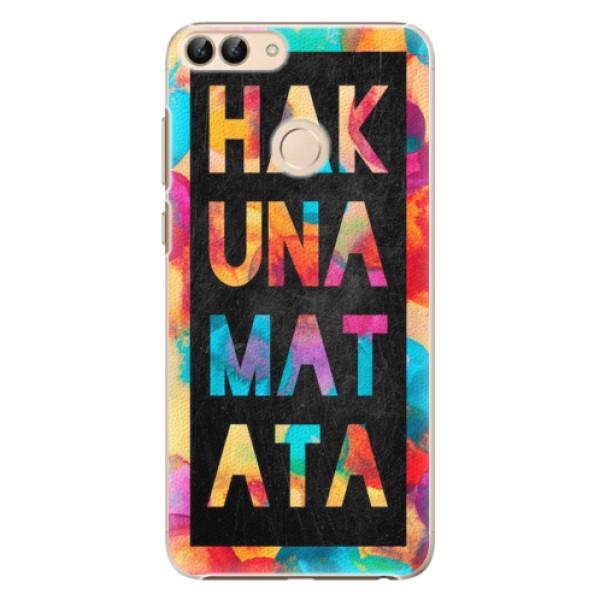 Plastové pouzdro iSaprio - Hakuna Matata 01 - Huawei P Smart